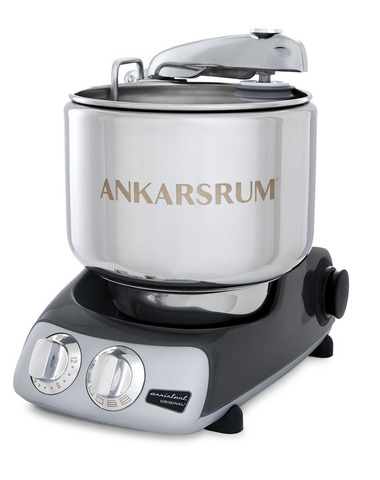 Тестомес комбайн Ankarsrum AKM6230 Assistent черный хром (базовый)