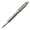 Перьевая ручка Parker IM Premium F322 Dark Espresso CT перо F (1931681) ручка parker im premium dark espresso ciselled ct 1931682