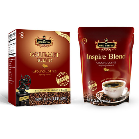 Gourmet и Inspire Blend от King Coffee