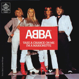 ABBA / Take A Chance On Me + I'm A Marionette (7' Vinyl Single)