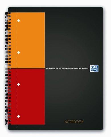 Бизнес-тетрадь International NoteBook A4+ (23*29.5см) клетка 80л твердая обложка