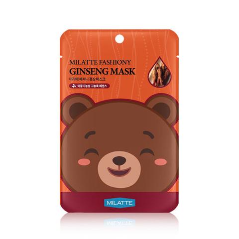 Маска MILATTE Fashiony Ginseng Mask 21g