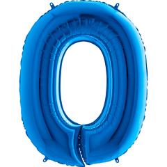 Цифра 0 (Синяя)