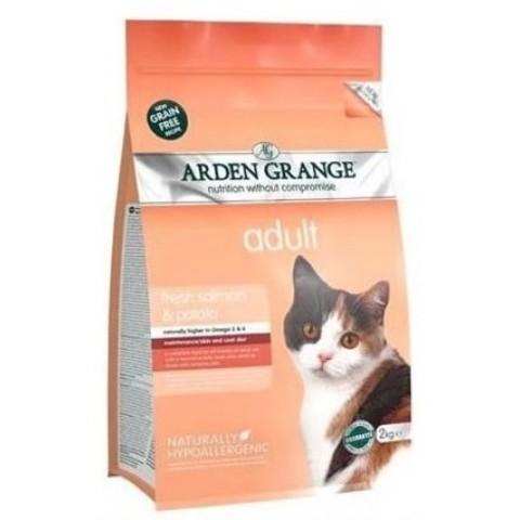 ARDEN GRANGE ADULT CAT FRESH SALMON & POTATO 4 кг