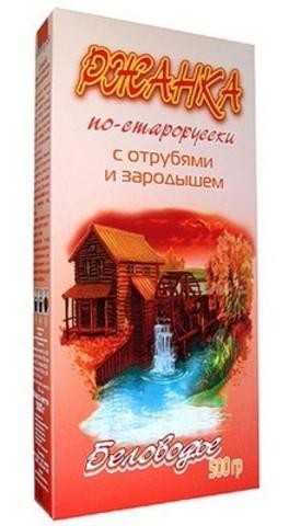 Беловодье ржанка по-старорусски с отрубями и ростками 500 г
