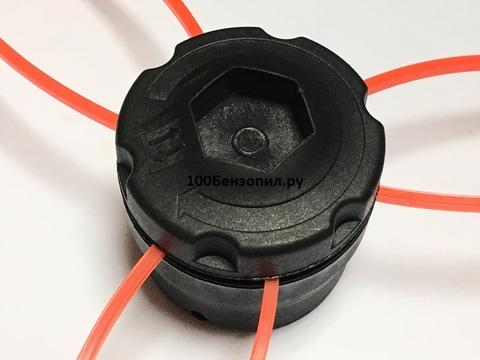 Катушка для триммера универсальная под леску от 2 мм до 4мм  GT37
