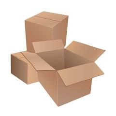 Короб картонный 380х285х190мм,Т-23 бурый,10шт/уп.