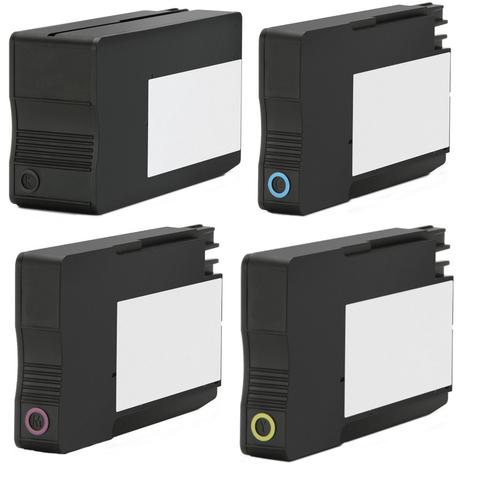 Перезаправляемые картриджи ПЗК (ДЗК) HP 953/957 для HP OfficeJet Pro 8210, 8710, 7740, 7720, 7730, 8720, 8730, 8725, 8218, 8715, 8740, с авто чипами, комплект 4 цвета