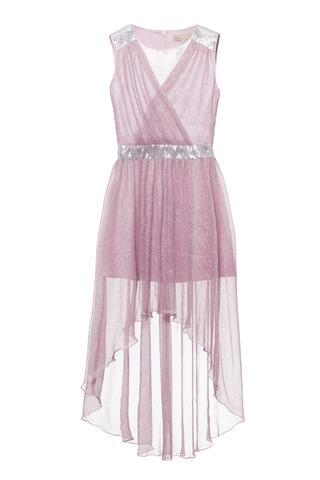 Удлиненное нарядное платье (арт.29030)