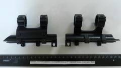 """Кронштейн LEAPERS крышка ств/коробки кольца 1"""" с прямой видим. (СКС) MNT-T640"""