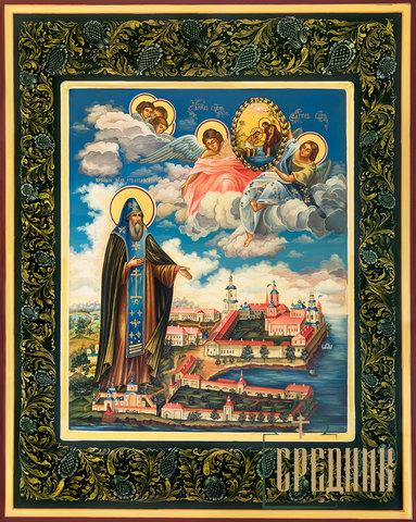 Икона Святой Преподобный Нил Столобенский