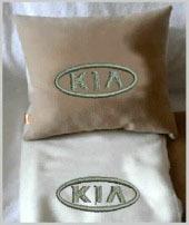 Плед в чехле с логотипом KIA