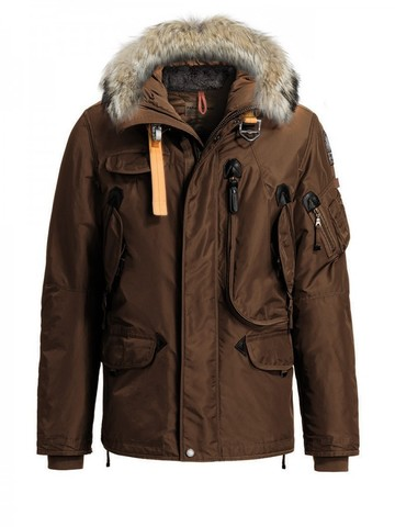 Пуховик Parajumpers Right Hand Brown (Коричневый)