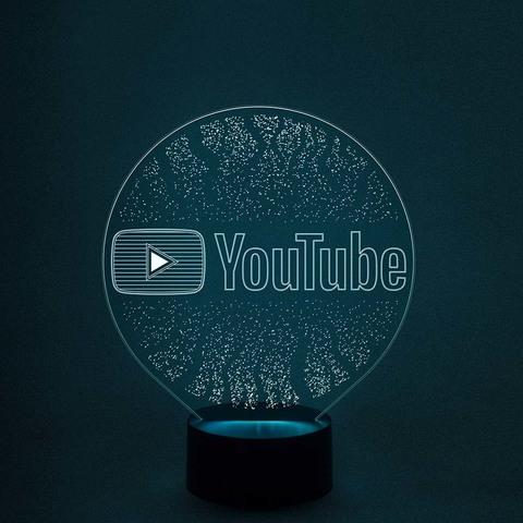 Светильник-ночник с логотипом (на заказ)