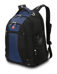 Рюкзак WENGER, цвет черный/синий (3118302408)
