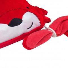 SNOOZIHEDZ плед подушка красные