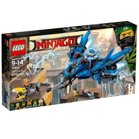 LEGO Ninjago Movie: Самолёт-молния Джея 70614 — Lightning Jet — Лего Ниндзяго фильм