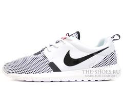 Кроссовки Мужские Nike Roshe One White Grid