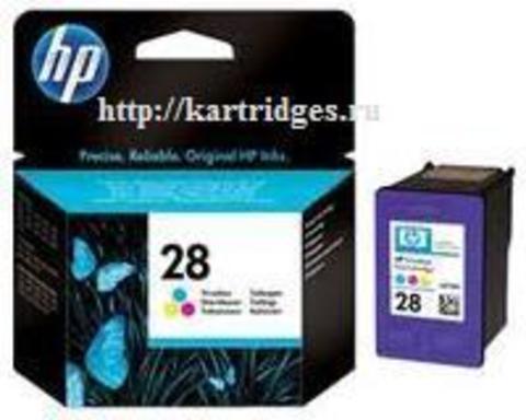 Картридж Hewlett-Packard (HP) C8728AE №28