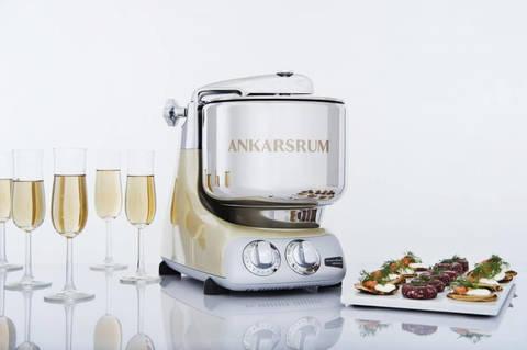Кухонный комбайн Ankarsrum Sparkling Gold AKM 6230 SG, Швеция. Фото