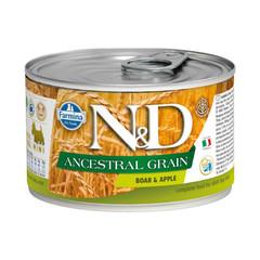 Фармина N&D Ancestral Grain 140 гр консервы для собак мелких пород кабан с яблоком