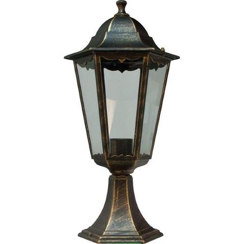 Светильник садово-парковый, 100W 230V E27 черное золото, 6204 (Feron)