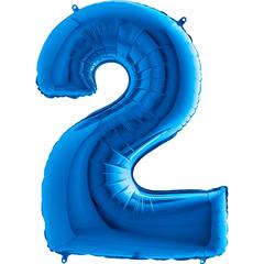 Цифра 2 (Синяя)
