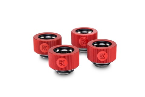 EK-HDC Fitting 16mm - Red (4-pack)