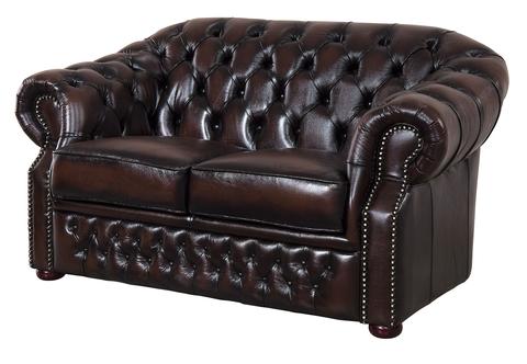 Диван  B-128 (love seat) коричневый
