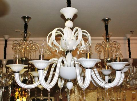 murano chandelier  SYLCOM 11-02  by Arlecchino Arts ( HK)