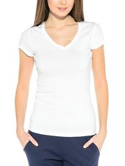 7575-2 футболка женская, белая