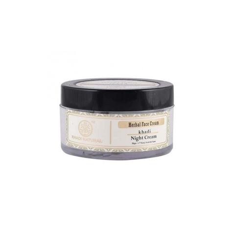 Ночной крем для лица с травами Khadi Natural, 50 гр