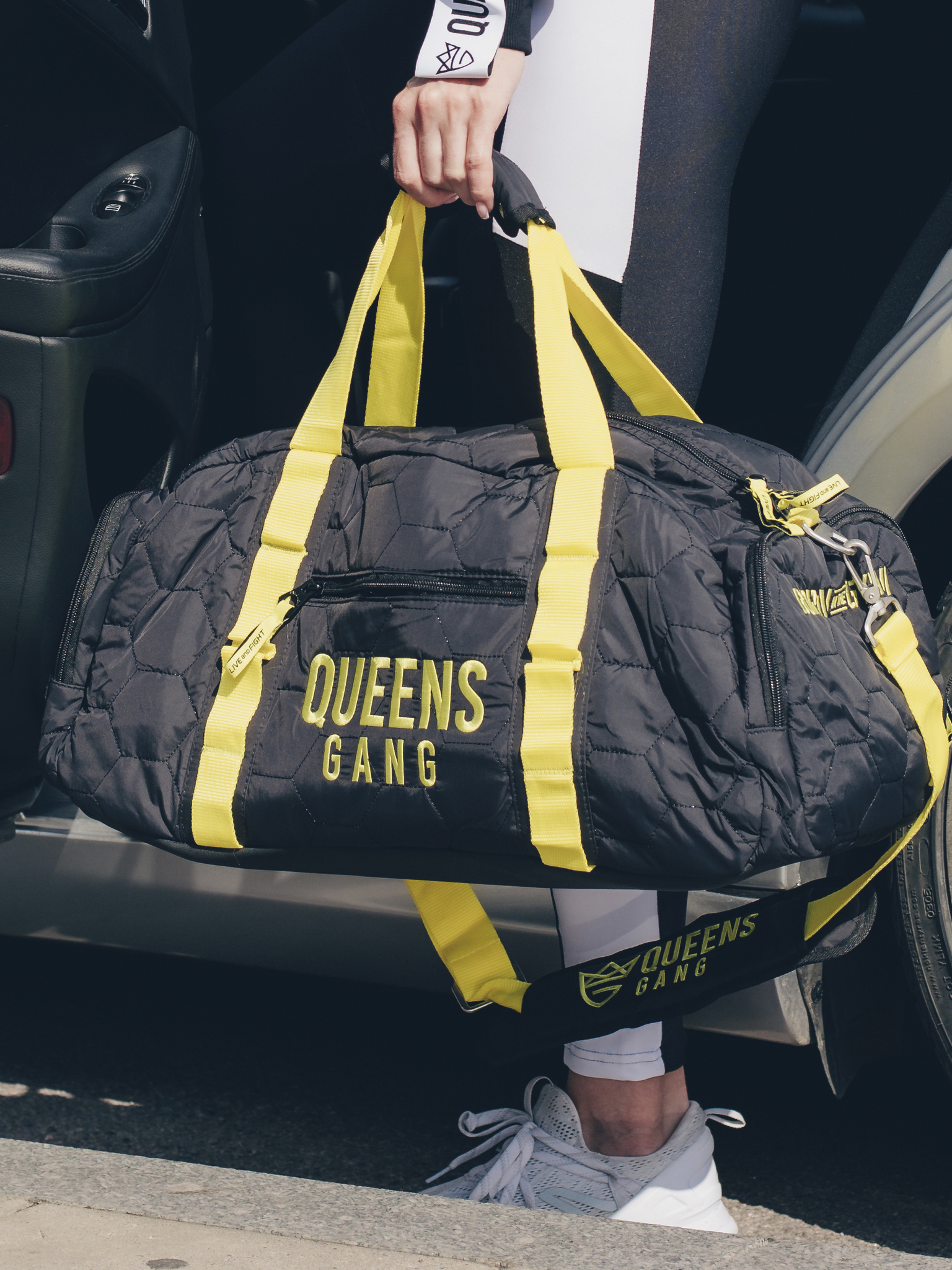 Сумка женская Olimp QUEENS BAG NEON/ BLACK