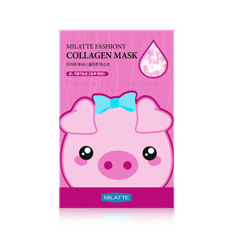 Маска MILATTE Fashiony Collagen Mask 21g X 10 шт.