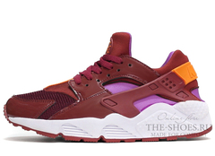 Кроссовки Женские Nike Air Huarache Chocolate Lilac White