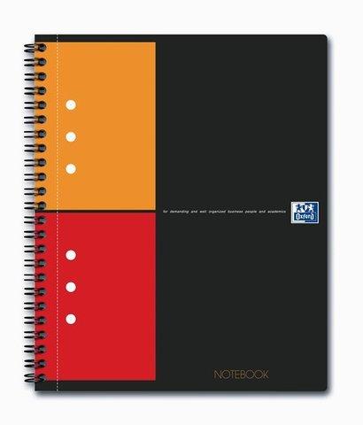 Бизнес-тетрадь International NoteBook A5+ (16.9*21см) клетка 80л твердая обложка