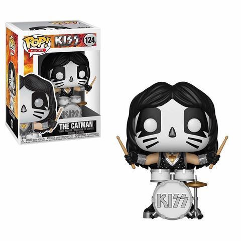 Фигрука Funko POP Rocks: KISS - Catman