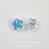 5744 Бусина в виде цветка Сваровски Crystal AB 8 мм