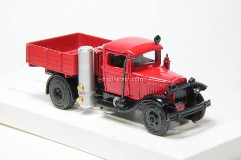GAZ-42 fire engine gas generator LOMO-AVM 1:43