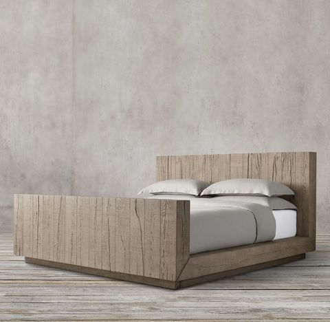 Aspen French Oak Bed with Footboard