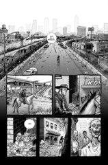 Ходячие мертвецы. Книга первая. Альтернативная обложка для МКК Хэллоуин 2016