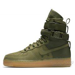 Кроссовки мужские Nike Air Force 1 SF Olive Green