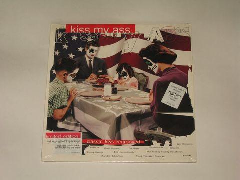 Сборник / Kiss My Ass: Classic Kiss Regrooved (LP)