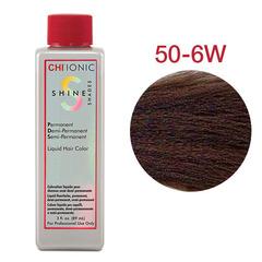 CHI Ionic Shine Shades Liquid Color 50-6W (Светлый теплый коричневый) -  Жидкая краска для волос