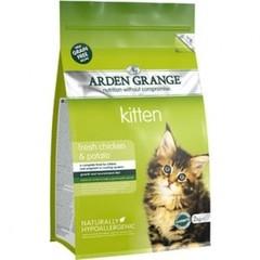 ARDEN GRANGE KITTEN WITH FRESH CHICKEN & POTATO 2 кг