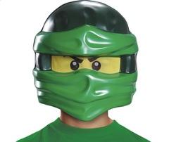 Лего Ниндзяго Ллойд детская Маска — Ninjago Lloyd Lego Child Mask
