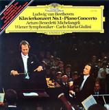 Ludwig van Beethoven, Arturo Benedetti Michelangeli, Wiener Symphoniker, Carlo Maria Giulini / KlavierKonzert No. 1 - Piano Concerto (LP)