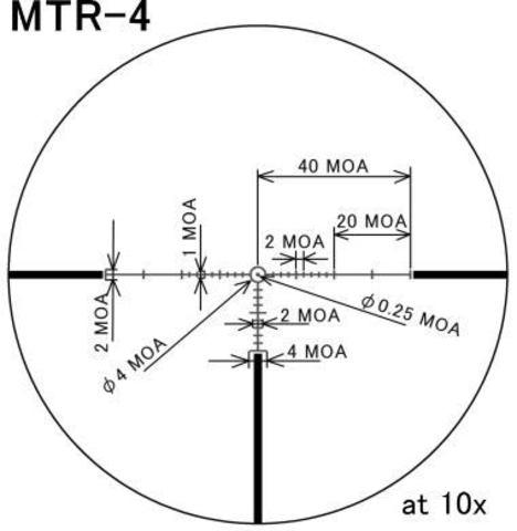 Оптический прицел March 8-80x56 illuminated MTR-4 reticle # D80V56TI