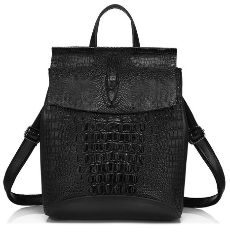 Рюкзак женский JMD Reptilia 3203 Черный