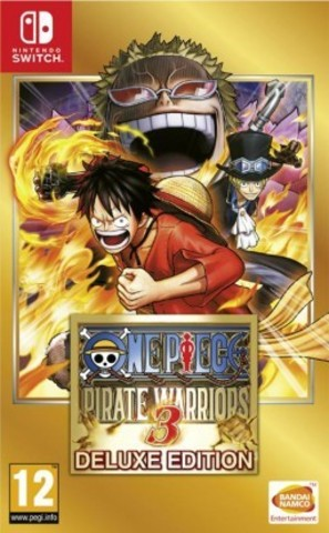 Nintendo Switch One Piece Pirate Warriors 3. Deluxe Edition (английская версия)